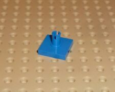 LEGO - Tile, Modified 2 x 2 with Pin, BLUE x 6 (2460) TM78