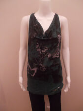 NEW-DESIGUAL BUTTERFLY PRINT TOP-SIZE SMALL=8/10  (#1504)