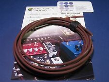Bulk Cable Evidence Audio Burgundy Monorail 5 feet - Authorized Dealer