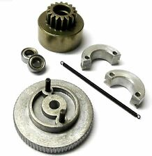 0204868107 .12 - .18 RC Nitro Engine Car 2 Shoe Clutch Flywheel Kit VX 16 Teeth