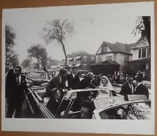 1962 President John F Kennedy Original Photo : Detroit : 100,000 and a bride