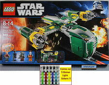 LEGO Star Wars - 7930 Bounty Hunter Assault Gunship NISB Aurra Sing Embo Sugi