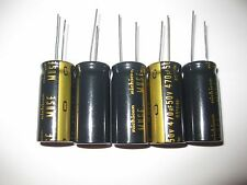 5x Nichicon KZ 470uF 50v MUSE KZ Audio Capacitors