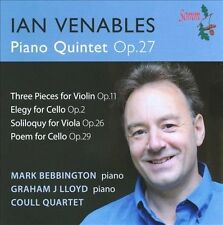 Venables: Piano Quintet Op. 27, New Music