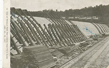 Lancaster Co. PA * McCall's Ferry Dam from Fry's Island 1907 Construction  e16