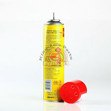 NEW - NEON ULTRA REFINED BUTANE GAS - FILTERED LIGHTER REFILL FUEL w/ 5 Adapters