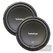 "2 Rockford Fosgate® R1S410 Car Audio 10"" PRIME Subwoofers SVC 4-ohm 600W Sub New"