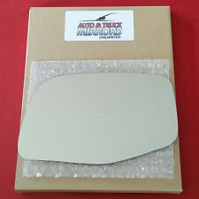 NEW Mirror Glass + ADHESIVE 92-96 FORD F150 & 89-97 AEROSTAR Driver Left Side LH