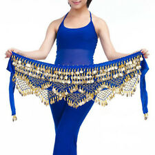 Professional 320 Silver Coins Belly Dance Dancing Hip Scarf Costume Belt JBUS