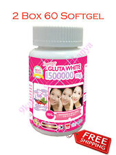 60 SOFTGEL SUPREME GLUTA WHITE 1500000 MG UNLIMITED WHITENING VITAMIN