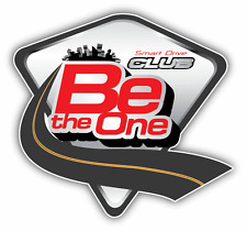 "Be The One Smart Drive Car Bumper Sticker Decal 5"" x 5"""