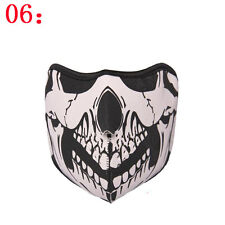 Neoprene Half Face Reversible Motorcycle Skiing Snowboarding Cycling Mask #06