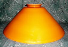 """Light Cover, 15-1/2"""" Wide, 6"""" High, Glass, Caramel Color, 3-7/8"""" Lip Fitter"""