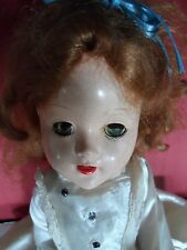 Vintage Hard Plastic Walker Doll 18""