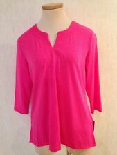 New ALISON DALEY Size PS 6P - 3/4 Sleeve TUNIC TOP NWT $38 MSRP