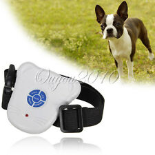Mini Dog Stop Barking Collar Anti Bark Ultrasonic Sound Training Aid Control New