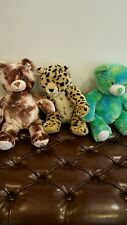 LOT OF 3 BUILD A BEAR PLUSH ANIMALS - See Pictures to see what you are Getting