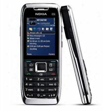 SILVER NOKIA E51 UNLOCKED PHONE - 2 MP CAM - 3G - BLUETOOTH - WIFI