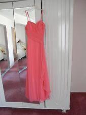 Prom evening dress size 6 color bubble gum.