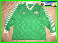 RARE 1990-1992 IRELAND LONG Player Issue  HOME ADIDAS FOOTBALL SHIRT size M/L 90