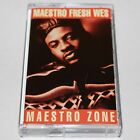 Maestro Fresh Wes Maestro Zone Cassette Tape Hip Hop Rap K-Cut Sir Scratch