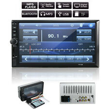 "7 ""Doppelte 2 Din HD Auto Radio MP5 Player Bluetooth Touchscreen Stereo Radio"
