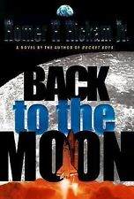 BACK TO THE MOON Homer H. Hickam Jr. AUDIO Book Cassette Tapes FREE SHIPPING!
