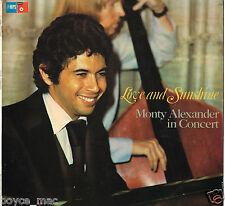 mps LP : MONTY ALEXANDER-love & sunshine  (hear)   with Ernest Ranglin promo