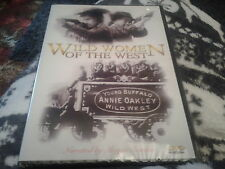 dvd wild women of the west American documentary new sealed Annie Oakley