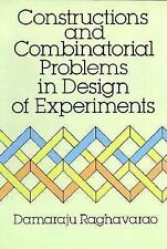 Constructions and Combinatorial Problems in Design of Experiments-ExLibrary