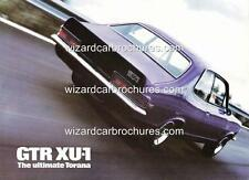 1971 LC HOLDEN TORANA GTR XU1 POSTER AD ADVERT ADVERTISEMENT SALES BROCHURE