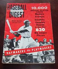Baseball Digest April 1959  Ernie Banks