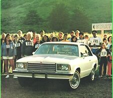 1979 Chevy MALIBU  Brochure / Pamphlet / Catalog with Color Chart