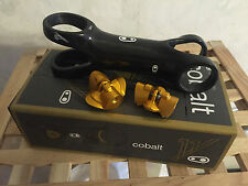 Crank Brothers Cobalt 11 Carbon MTB Stem 120mm Gold USED