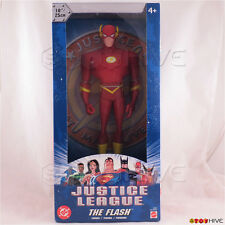 Justice League Unlimited The Flash 10 inch vinyl figure DC JLU sealed blue box