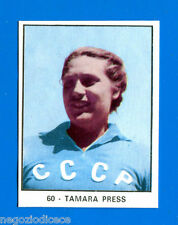 CAMPIONI DELLO SPORT 1966/67 - Figurina/Sticker n. 60 - TAMARA PRESS -Rec