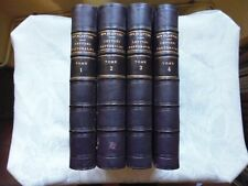 PLANTIER - INSTRUCTIONS LETTRES PASTORALES ET MANDEMENTS. 4 vol  1867