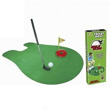 Mini Minigolf Club De Golf Mat Tapis Toilettengolf Toilettes Toilette Golf