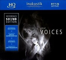 GREAT VOICES: IN-AKUSTIK REFERENCE SOUND EDITION NEW CD