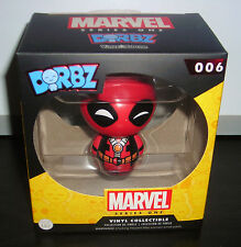 "1 UP BOX DORBZ MARVEL SERIES ONE DEADPOOL 3"" VINYL TOY FIGURE"