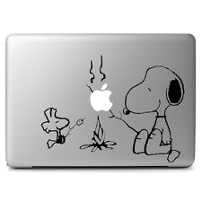 Snoopy & Woodstock BBQ Vinyl Decal Sticker for Macbook Air Pro 11 13 15