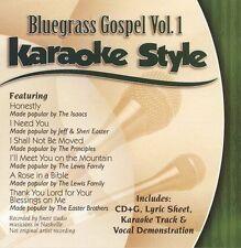 Karaoke Style: Bluegrass Gospel, Vol. 1 by Karaoke (CD, Jul-2003, Daywind)