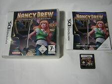 nintendo DS  Nancy Drew et le Mortel Secret du Olde World Park