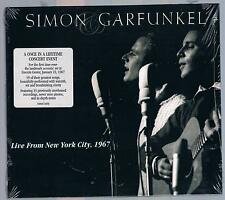 SIMON & GARFUNKEL LIVE FROM NEW YORK CITY 1967 CD SIGILLATO!!!
