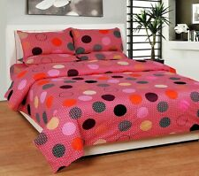 SYK Pure Cotton Double Bedsheet,Bedcover,Bed sheets with 2 Pillow Cover (024)