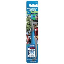 Oral-B Pro-Health Stages Marvel Avengers Soft Toothbrush 1 ea (Pack of 2)