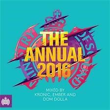 MINISTRY OF SOUND The Annual 2016 CD NEW SEALED SINGLE DISC EDITION RELAESE 6/11