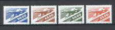 Moldova 1993 Supersonic Airliner (II) Aviation, Planes, Air mail 4 MNH stamps