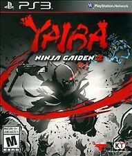 YAIBA - NINJA GAIDEN Z 2014 PLAYSTATION 3 Game PS3 Fighting Mature NEW