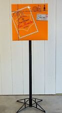 """NEW ~ RARE VEUVE CLICQUOT CHAMPAGNE MAIL """"EN ROUTE"""" YELLOW 67"""" TALL POLE TOPPER"""